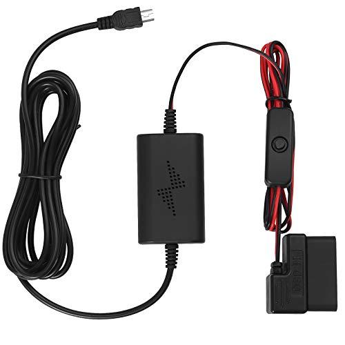 Universal Dash Cam Hardwire Kit OBD Dash Cam Kabel mit Mini Anschluss 12V-24V auf 5V Ausgangssicherungskasten Auto-Recorder Dash Cam Hard Wire Kit für Dash Cam, GPS Navigator, Radarwarner