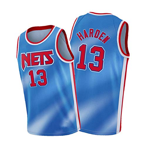 FGSD Härten # 13 - Camiseta deportiva de baloncesto para hombre, de secado rápido, color azul