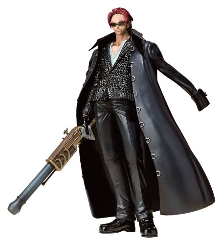 One Piece Red Haired Shanks (Strong World Ver.) Figuarts Zero figurine
