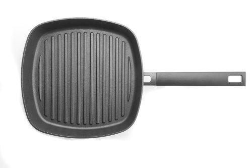 Woll 628-1LC Logic Guss-Steakpfanne 28 cm ø / 4.5 cm hoch/mit festen Stiel