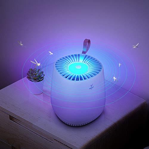Muggenmoordenaar, fotokatalytische niet-toxische veilige USB-voeding met ingebouwde ventilator voor binnen buiten slaapkamer babykamer keukenkantoor