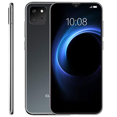 "CUBOT X20 Pro Smartphone ohne Vertrag, Handy 128GB, Dual SIM, Drei-Kamera-System, 4G dünn Handy, 6.3"" FHD Display, 4000mAh Akku, 6GB RAM, 256 GB erweiterbar, Android 9.0 Pie Gesichtserkennung, Schwarz"