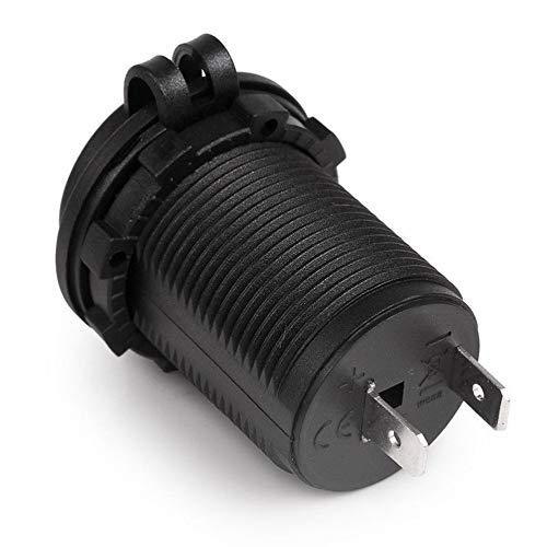 Luani 防水車オートバイバイクシガーライター電源ソケットプラグコンセント電源アダプターフィット12-24ボルト