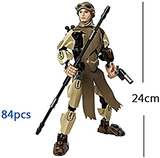 Pitaya. Star Wars Buildable Figure Block Toy Kylo Ren Chewbacca Darth Vader Boba Jango Fett Stormtrooper Compatible with -Complete Series Merchandise