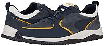 Clarks Puxton Run Navy Combination Walking Shoes