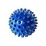 Pelota de masaje, 6,5 cm, pelota de masaje, reflexología, reducción del estrés, para el cuerpo, yoga, masaje, color azul