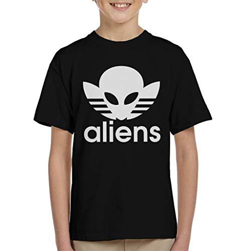 Aliens Mash Up Logo T-shirt voor kinderen