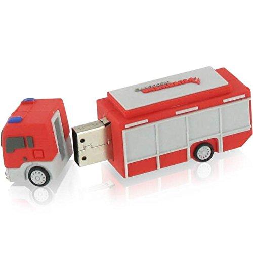 3D USB Stick Feuerwehrauto 16GB