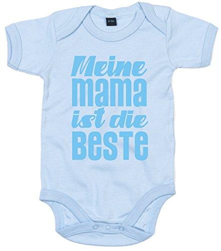 Baby & Kleinkind Baby Body Hellblau 47-62 \'Meine Mama IST DIE Beste\'