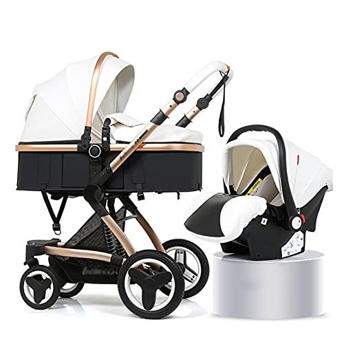 Silla de paseo ligera y compacta,cochecito de port Cochecito de carro de bebé con ángulo de altura de asiento ajustable y absorción de choque de cuatro ruedas, altos paisajes y cochecitos fashional, c