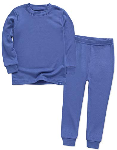 Image of Comfy Soft Solid Color Cotton Pajamas for Boys - See More Colors
