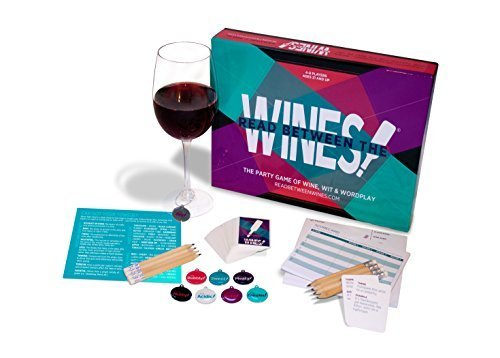 UNCORKED! Games Read Between The Wines! The Party Game of Wine,...