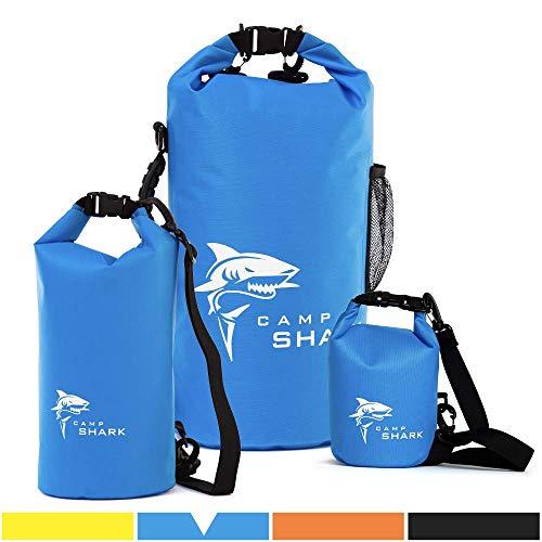 REVALCAMP Dry Bag 2L Blau - Nicht Krebserregendes PVC* - wasserdichte Tasche aus TPU - Kein übler Geruch, Bessere Elastizität and Längere Lebensdauer - Für den modernen Abenteurer entworfen