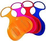 GUOSHUFANG 4 x Schneeflitzer zum Rodeln Schneerutscher Schlitten für Kinder ganze Familie - Farbe:...