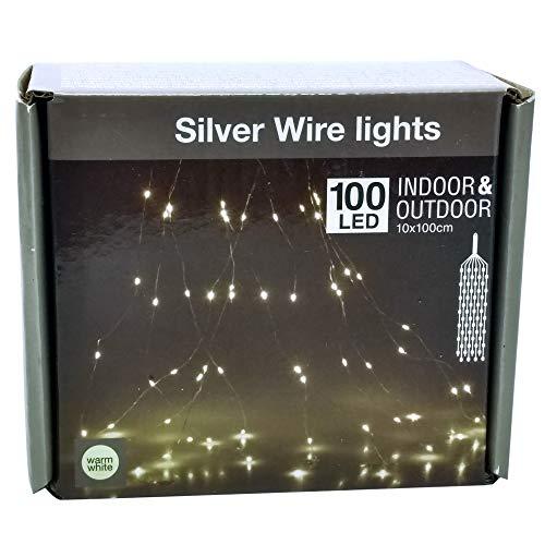PM Company Fil büschel, 100 LED Blanches Chaudes, IP44