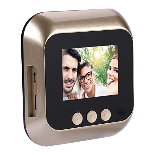 2,4 inch LCD HD scherm digitale deurbel deur oog deurbel elektronische kijkgat deur camera viewer outdoor deur bel