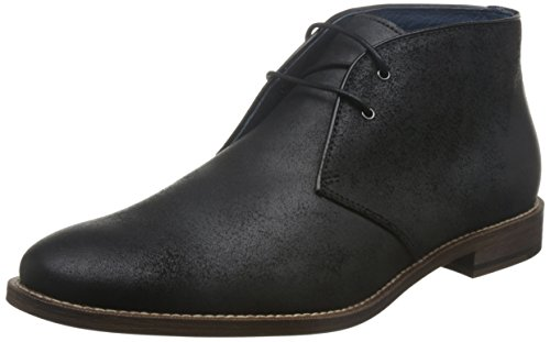 Rush by Gordon Rush Men's Mathews Chukka Boot, Black, 8.5 M US