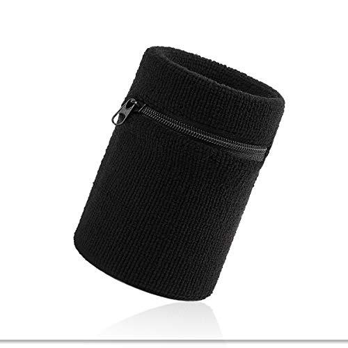 VENI MASEE Sport Dick Solid Color Armband mit Reißverschluss/Wrist Wallet, Preis/Stück