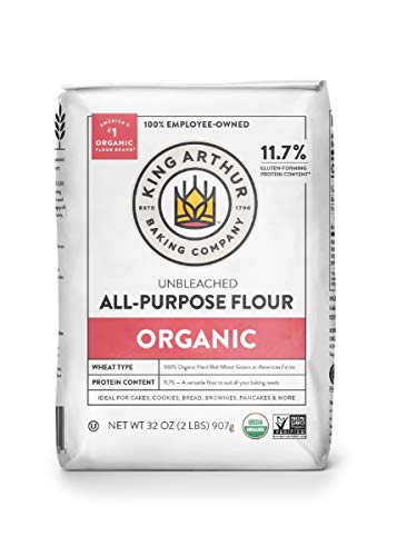 King Arthur Flour, 100% Organic All-Purpose Flour Unbleached