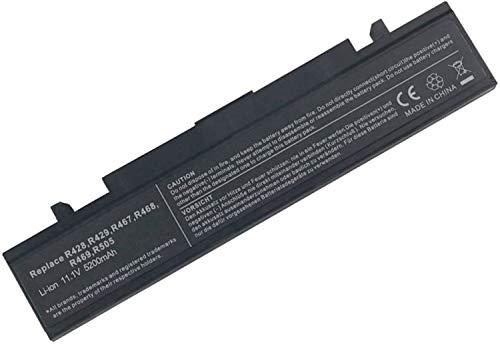onlyguo 11.1V 5200MAH AA-PB9NC6B AA-PB9NS6B AA-PB9NC6W AA-PB9MC6W NP300E5A AA-PB9MC6B Batería para Ordenador portátil de Repuesto para Samsung P410 AA-PB9NS6W R428 R460 P410 NP300E5A