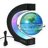 Magnetic Levitating Globe with LED Light,...