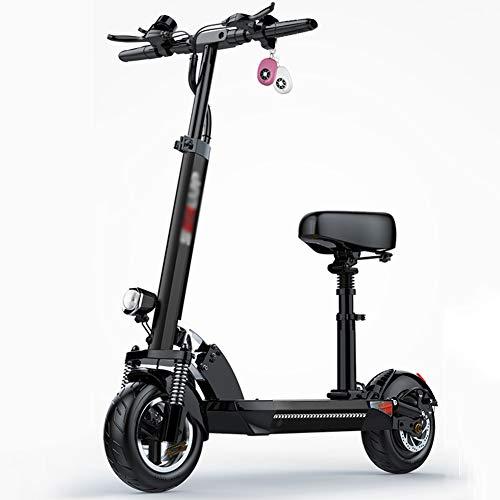 GYPPG Patinetes Eléctricos, Scooter E Plegable para Adultos, Motor 500W, 3 Modos...