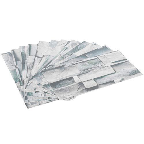 Etiqueta engomada del piso del papel pintado de la etiqueta engomada de la baldosa de mármol de la cocina del PVC para la sala de estar del piso del cuarto de(KIT042)