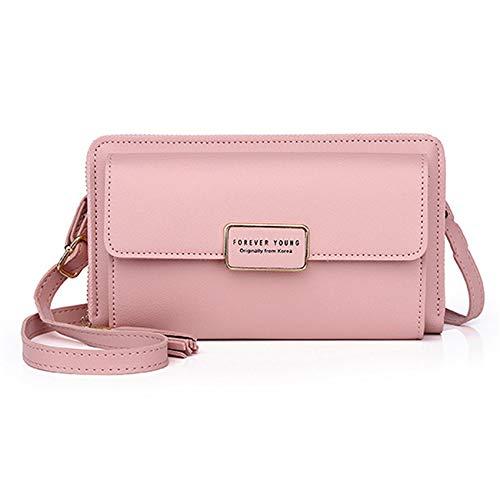 Bolsa de teléfono Anchang, portátil, accesorios de ropa para senderismo, camping, Pink...