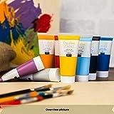 Creative Deco Acryl-Farben Set | 12 Groß 100 ml Röhren | Farbset Hergestellt in EU | Für Anfänger Studenten Künstler und Profis | Ideal für Holz Leinwand Stoff und Papier | 12 x 100 ml Tuben - 6