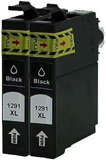 4 Cartucce di Inchiostro Nero per Epson Stylus Office B42WD BX525WD BX635FWD BX320FW