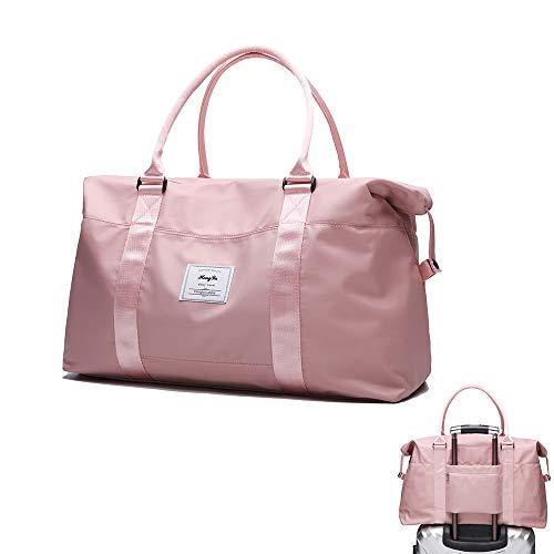 Waterdichte reistas roze reistas handtas bagage schouder organizer voor shopping sport camping