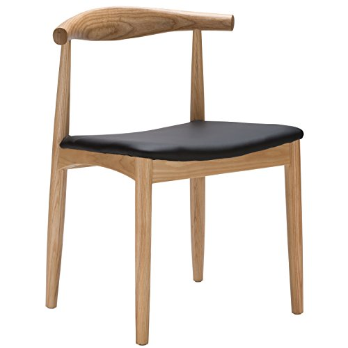 Poly and Bark Wegner Style Elbow Chair, Natural