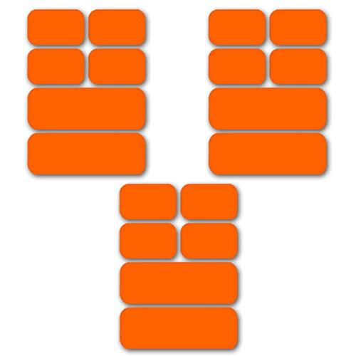 [アブズベルト互換 18枚セット 対応 シックスパッド ジェルシート ジェルパッド ジェル 日本製ジェル]腹筋 EMS 対応 互換品 高電導 ジェルシート ジェルパッド非純正品