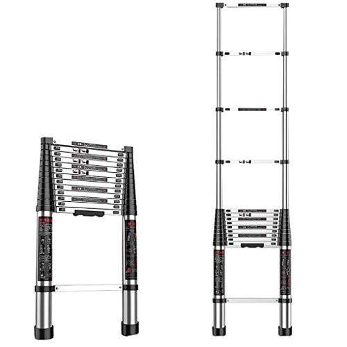 GJSN Escaleras, escalera telescópica, escalera de aluminio