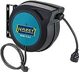 Hazet 9040D-2.5-Enrollador de Cable (20 m, 230 V CA, guía automática)