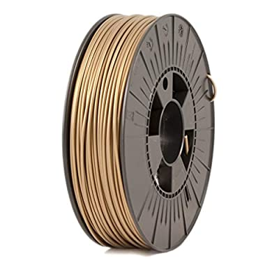 ICE Filaments ICEFIL3PLA125 PLA filament, 2.85mm, 0.75 kg, Groovy Gold