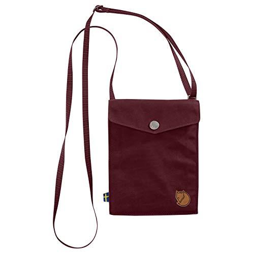 Fjällräven Umhänge Tasche, für Dokumente, Umhängeband 14cm, Dark Garnet, 3 x 18 x 14 cm