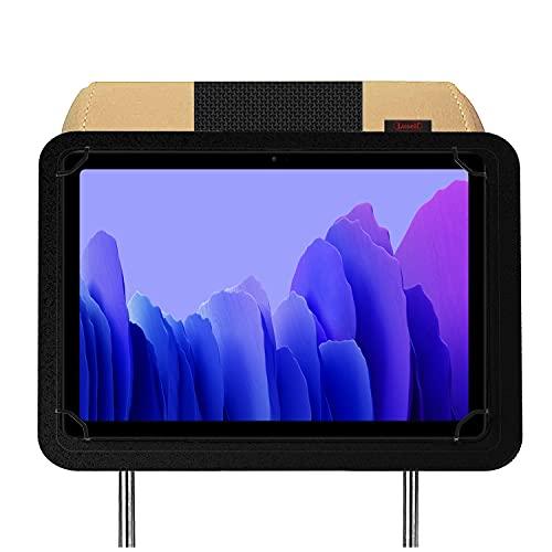 Soporte Tablet Coche reposacabezas Compatible con Samsung Galaxy Tab A7 10.4' 2020 T500 T505 T507 Nylon irrompible Soporte mas Seguro del Mercado
