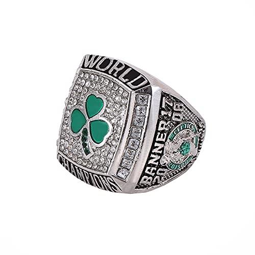 Fei Fei 2008 NBA Celtics Championship Ring Campeonato Anillo para los fanáticos Hombres colección Regalo de visualización campeón del Recuerdo de réplica,with Box,11