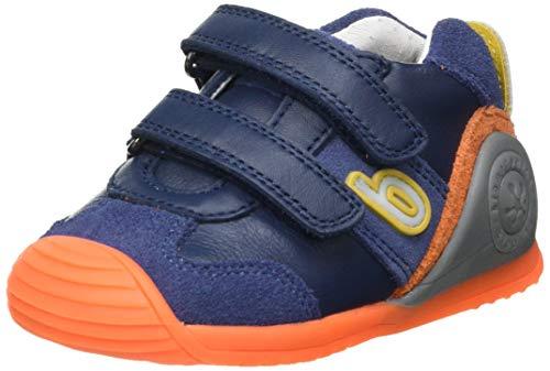 Biomecanics 212151-A, Zapatillas para Bebés, Ocean (Sauvage), 18 EU
