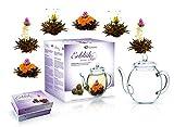 """Mix de flores de té de Creano - set para regalo """"Té Floreciente"""" con..."""