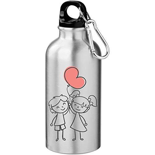 Iprints Valentijnsdag Leuke Schets Tekenen Toeristische Water Fles