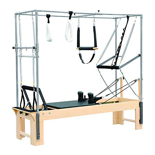 ELINA PILATES Convertible Wood Cadillac-Reformer with Jump Board and Box