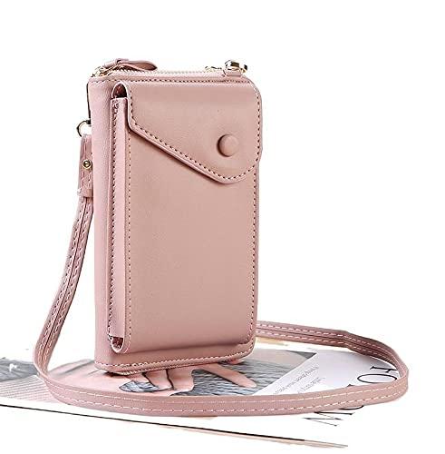 Nuevo bolso para mujer, bolso cruzado pequeño de color sólido, bolso largo del verano a juego para las mujeres