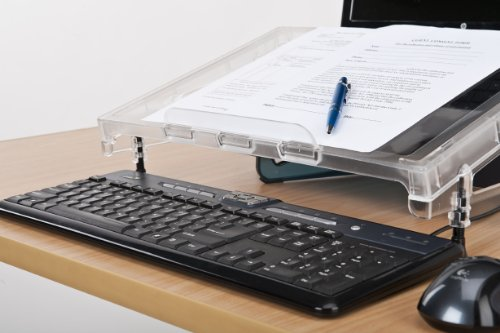 Good Use MicroDesk (MD-COM) Compact Non-Slip Inline Writing Platform and Document Holder