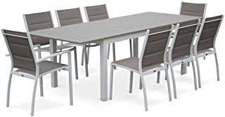 Amazon.fr : table jardin aluminium - Blanc