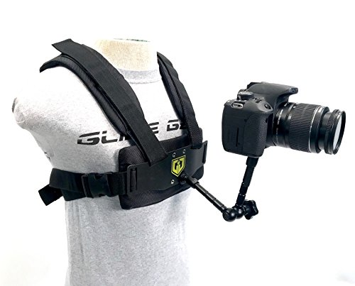 Glide Gear Medusa Body POV Camera Accessory Harness Vest