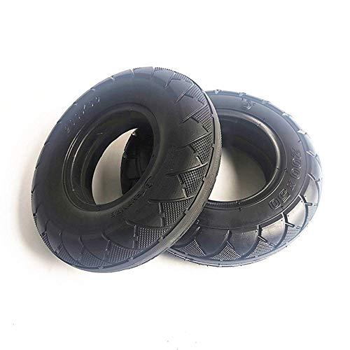 HZWDD Neumáticos Antideslizantes Resistentes al Desgaste de 8 Pulgadas 200X50, adecuados para neumáticos Exteriores Interiores inflables y neumáticos sólidos a Prueba de explosiones para Scooters