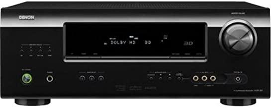 Denon AVR-391 5.1 Channel AV Home Theater Receiver with HDMI 1.4a (Black) (Discontinued by Manufacturer)