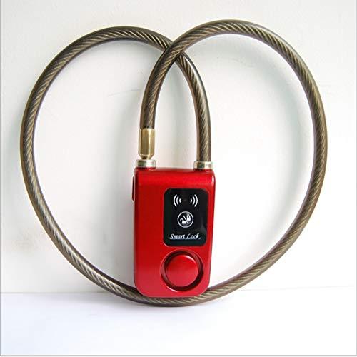 ZLQF Anti-Loss Lock Keyless Alarm Bike Motorfiets Deur Anti-diefstal Alarm 110dB Telefoon APP Controle Bluetooth Smart Lock 0.2